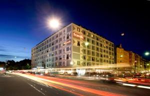 hotell nära Globen